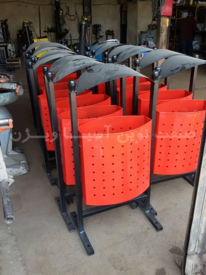قیمت انواع سطل زباله شهری