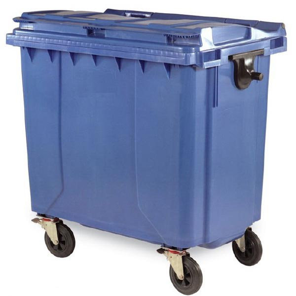 مخزن سطل زباله پلی اتیلن